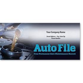 Full-Color Auto Files - Oil Change