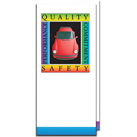 Full-Color Auto Document Holders with Double Pocket - Quality & Safety