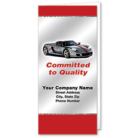 Custom Foil Auto Document Holders with Double Pocket - Committed to Quality