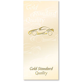 Foil Auto Document Holders with Double Pocket - Gold Standard Quality