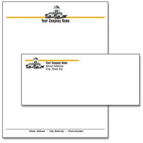 Stationery Ensemble - Tow Truck Trio
