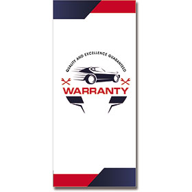 Customer Service Warranty with Reply Card - Quality & Excellence