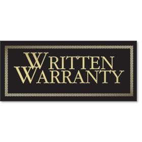 Deluxe Written Warranty