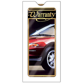Window Envelopes for Automotive Warranties