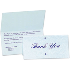 Custom Parchment Thank You Note