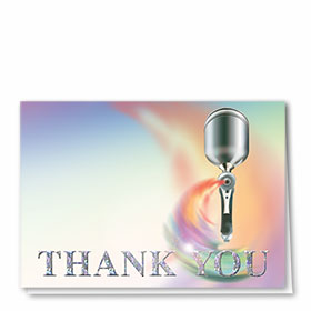 Foil Automotive Thank You Cards - Paint Spray Gun