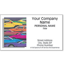 Designer Automotive Business Cards -  Full Spectrum