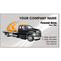 Designer Automotive Business Cards - Pathway Towing