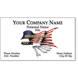 Designer Automotive Business Cards - Pride