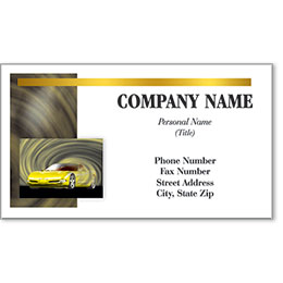 Automotive Business Cards with Foil - Executive Drive