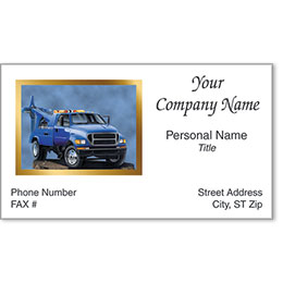 Automotive Business Cards with Foil - No Obstacles