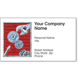 Automotive Business Cards with Foil - Fine Tune II