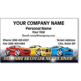 Business Card Foil - Modern Muscle