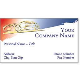 Business Card Foil - Gold Patriotism