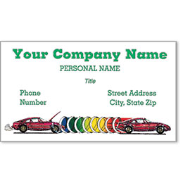 Premier Automotive Business Cards - Before & After