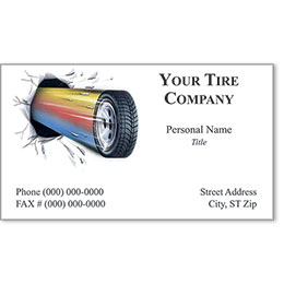 Premier Automotive Business Cards - Breakthrough Tire
