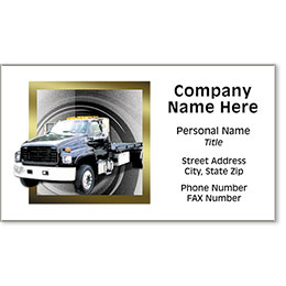Premier Automotive Business Cards - Fast Tow