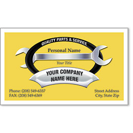 Premier Automotive Business Cards - Quality Tool