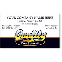 Premier Business Card - Chrome Quality