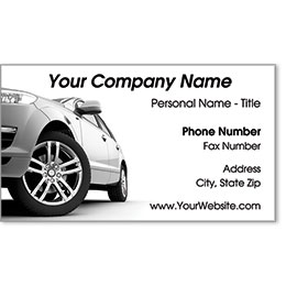 Premier Business Card - Silver Sport