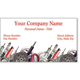 Premier Automotive Business Cards - Parts Plus