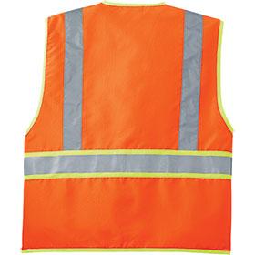 C/S Vest Safety ANSI 107 Class 2 Dual-Color