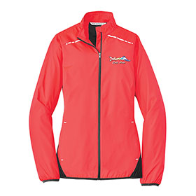P/A Jacket Ladies Zephyr Reflective Hit Full-Zip
