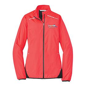 P/A Jacket Ladies Zephyr Reflective Hit Full-Zip