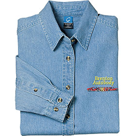 P/C Shirt Ladies LS Denim