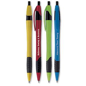 Metallic Dart Pen with Grip by Norwood®