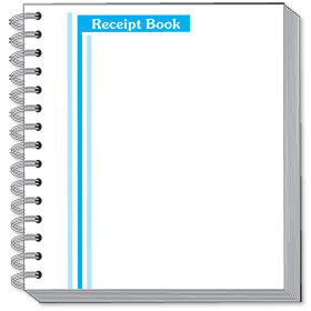 2 Part Cash Receipt Books