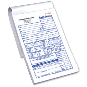 Road Service - Towing Form