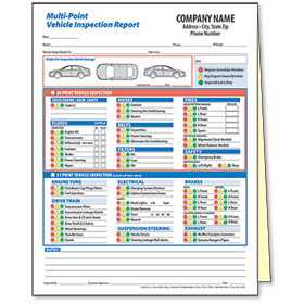 Multi-Point Vehicle Inspection Form