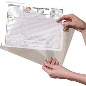 Plastic Repair Order Sleeves