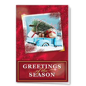 Premium Foil Holiday Cards - Classic Photo