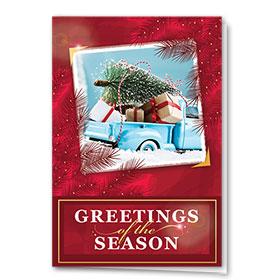 Premium Foil Holiday Card - Classic Photo