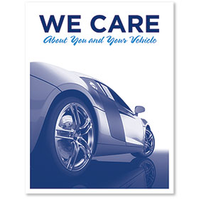 Large Vertical Paper Floor Mats - We Care