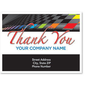 Personalized Full-Color Paper Floor Mats - Color Check