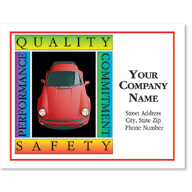 Personalized Full-Color Paper Floor Mats - Quality & Safety