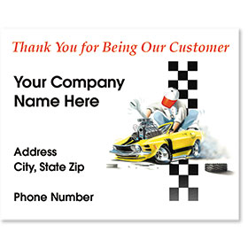 Personalized Full-Color Paper Floor Mats - Our Customer