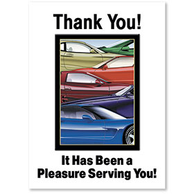 Standard Paper Floor Mats - It Has Been a Pleasure Serving You!