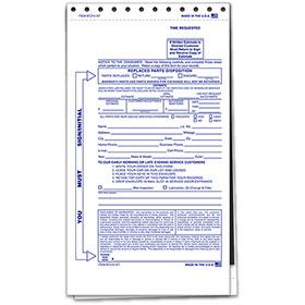 Key Drop Envelope 2 Part Blank