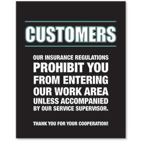 Sign Contemporary - Insurance
