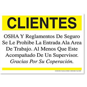 OSHA Regulations Spanish