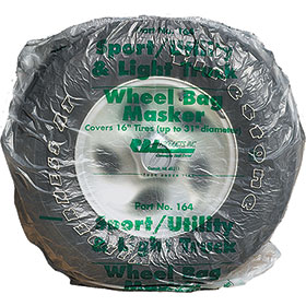 "15"" Plastic Wheel Bag Maskers"
