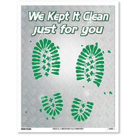 Wet-Strength Floormat - Keep It Clean