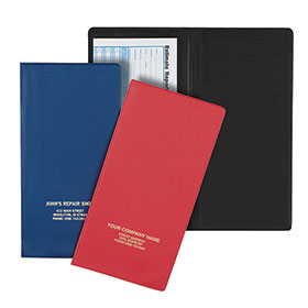 Vinyl Pocket Folder - 4-inch Pockets