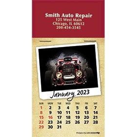 Calendar Self Stick Full Color Pad