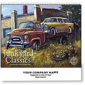 Wall Calendar Spiral - Junkyard Classics