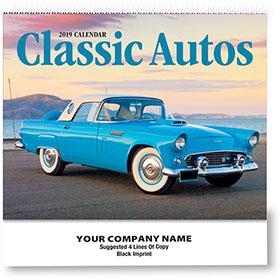 Wall Calendar Spiral - Classic Cars